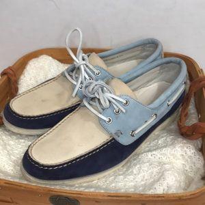 EUC Cole Haan Men's size 11 Leather Boat Shoes